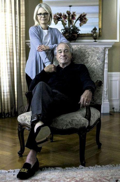Robert De Niro et Michelle Pfeiffer se sont fondus dans leurs personnages pour le tournage de «The Wizard of Lies» (le sorcier des mensonges).