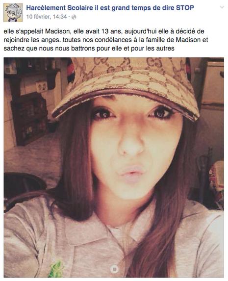 Madison avait 14 ans