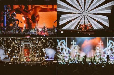 Madonna était en grande forme à Bercy.