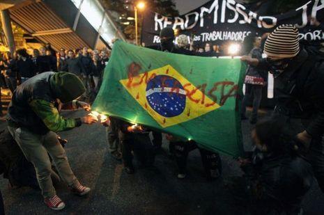 Manifestation Brésil