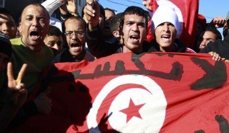 Manifestation tunisie-