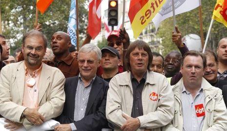 Manifestations syndicats 7 sept 2010-