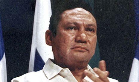Manuel Noriega en 1998-