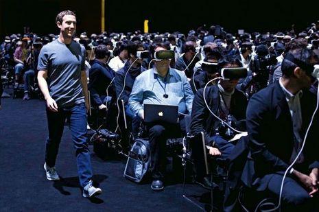 Mark Zuckerberg, P-DG de Facebook