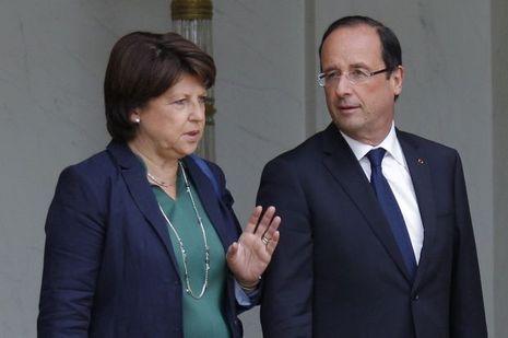 Martine-Aubry-Francois-Hollande