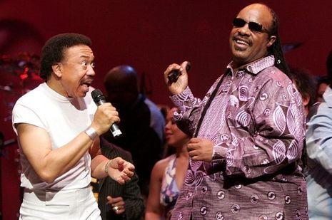 Maurice-White-Stevie-Wonder