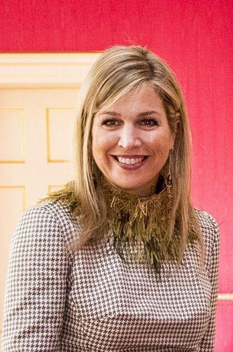 La reine Maxima des Pays-Bas à La Haye, le 26 mars 2018