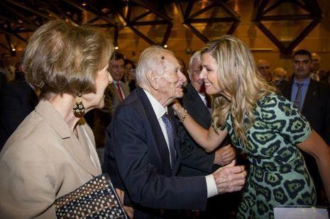 La reine Maxima des Pays-Bas et ses parents à Buenos Aires le 11 octobre 2016