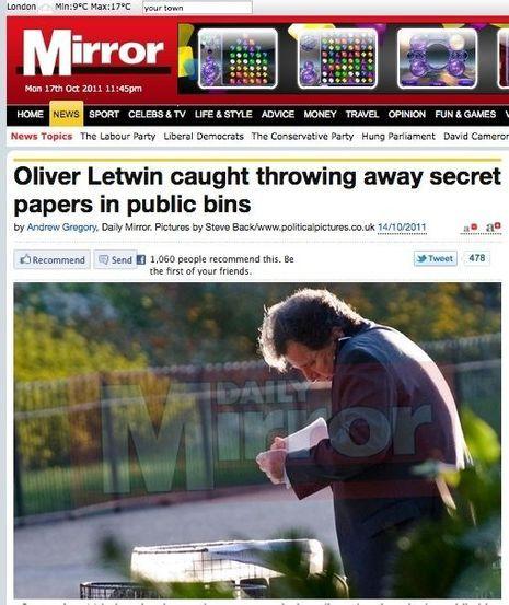 Ministre poubelle-