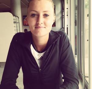 Nous avons rencontré Kristina Mladenovic.