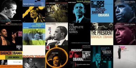 Obama blues-