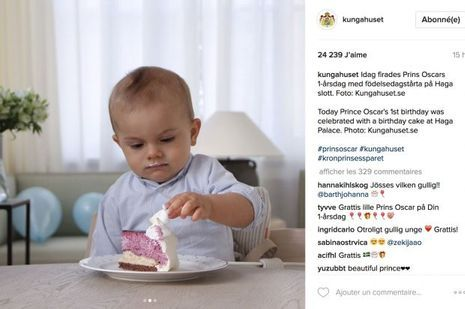Oscar Suede 1 an Instagram_2