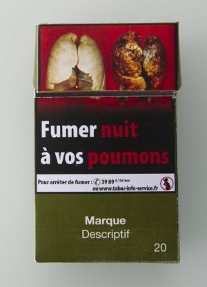 Paquet neutre Cigarettes 2