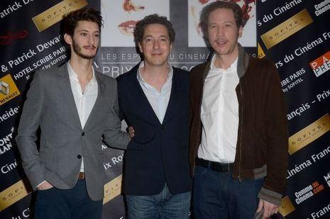 Pierre Niney, Guillaume Gallienne et Reda Kateb.
