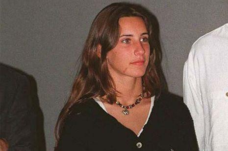 Pascale Mitterrand ici en juillet 1996 à Saint Tropez.