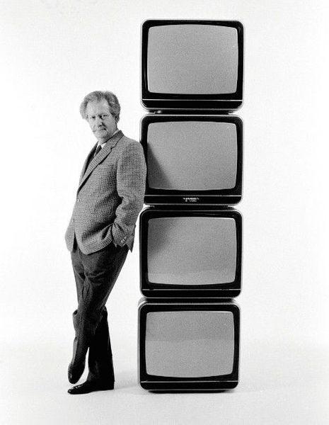 Pour Paris Match, en 1982, un pilier de la télévision.