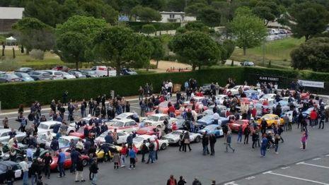 Pré grille de départ du Circuit Paul Ricard au Castellet