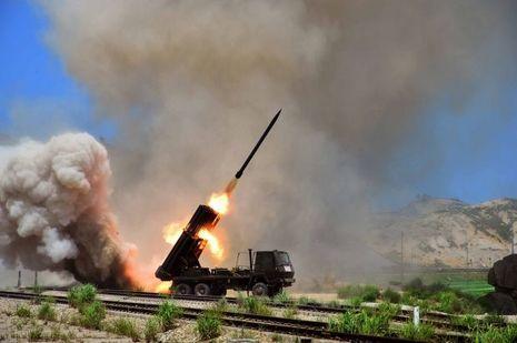 Le 15 juillet dernier, l'agence de presse KCNA diffusait des images de tirs d'entraînement à Pyongyang.
