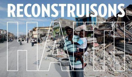 Reconstruison Haïti-