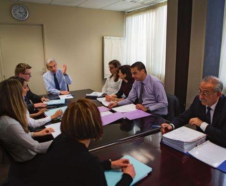 Réunion « de suivi » interservice du vendredi organisée par le préfet Colrat