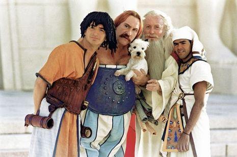 En 2002, il est le druide d'«Astérix et Obélix: mission Cléopâtre», d'Alain Chabat, avec Edouard Baer, Gérard Depardieu et Jamel Debbouze.