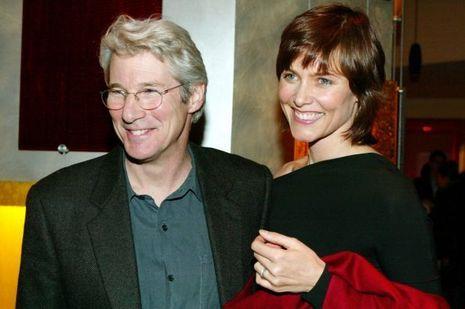 Le couple en janvier 2003.