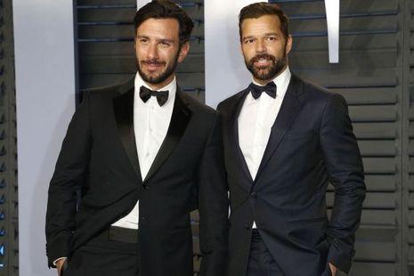 Ricky Martin et son compagnon Jwan Yosef