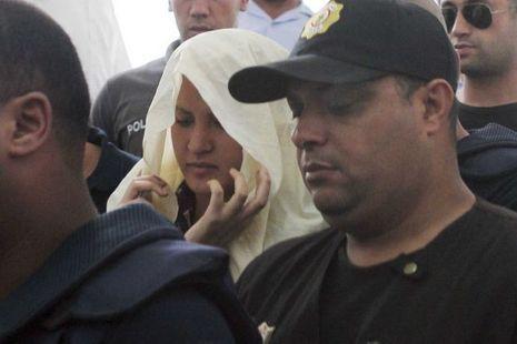 Amina lors de sa comparution le 5 juin.