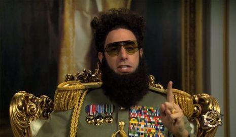 Sacha Baron Cohen «The Dictator»-