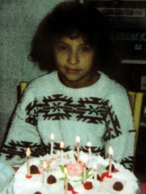 La petite Saida, tuée à dix ans.