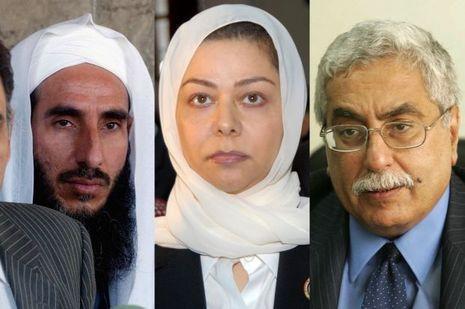 Abdel Nasser al Janabi, Raghad Hussein et Maan Bachour font partie de la liste