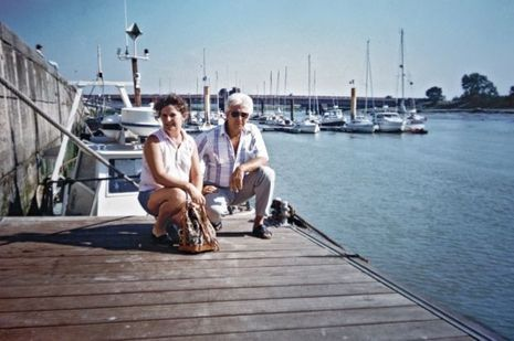 Vacances en bord de mer pour Jacqueline et Norbert Marot, dans les années 1980.