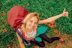 Hélène Pambrun et sa ride du sourire