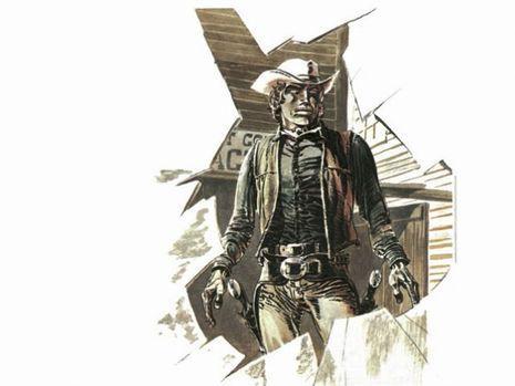 Red Dust, un des héros de«Comanche ».