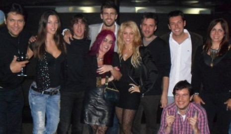 Shakira et Piqué-