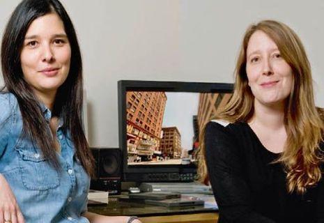 Julia et Clara Kuperberg, réalisatrices.