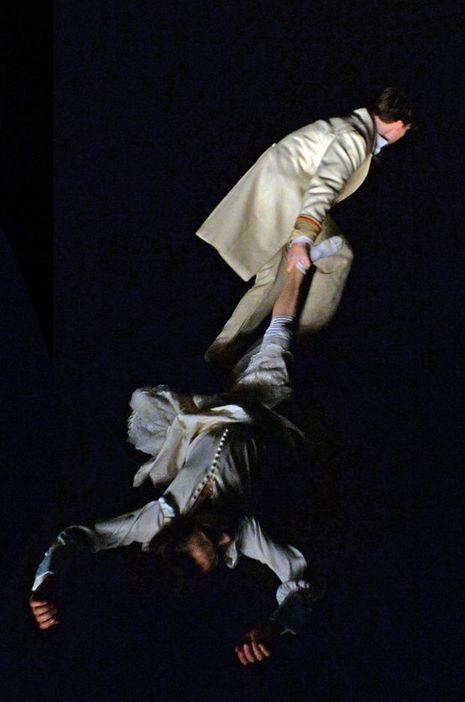 «Show», au théâtre des Abbesses, à Paris.