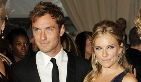 Sienna Miller et Jude Law-