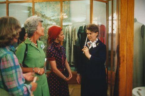 La reine Silvia de Suède à Moscou en juin 1978