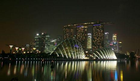 Singapour Ecoparc vue générale