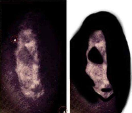 L'apparition filmée par les caméras de surveillance de The Cage... Un bouc fantomatique ?