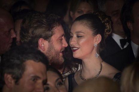Béatrice et Pierre Casiraghi au bal de la rose 2017.