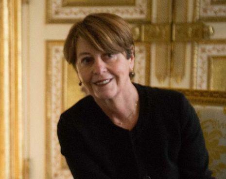 Adeline Hazan, contrôleuse des prisons.