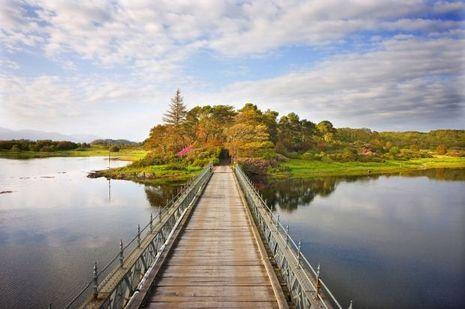Sur le pont d'Eriska comme dans un tableau Impressionniste