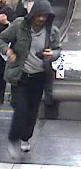 Les images du suspect recherché par la police