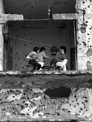 The balcony, 1984