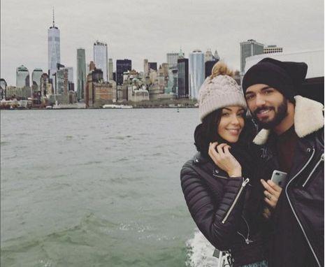 Thomas et Nabilla à New York