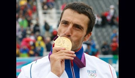 Tony Estanguet Médaille d'or-