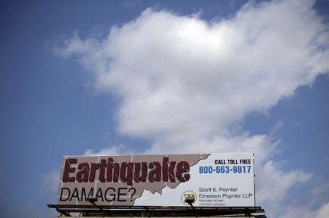 Tremblement de terre Arkansas