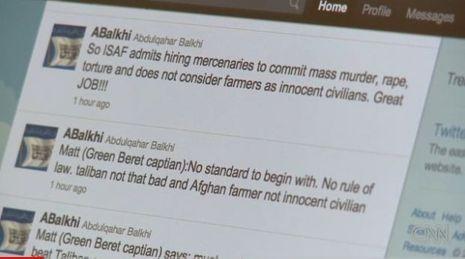 Twiter talibans Otan-